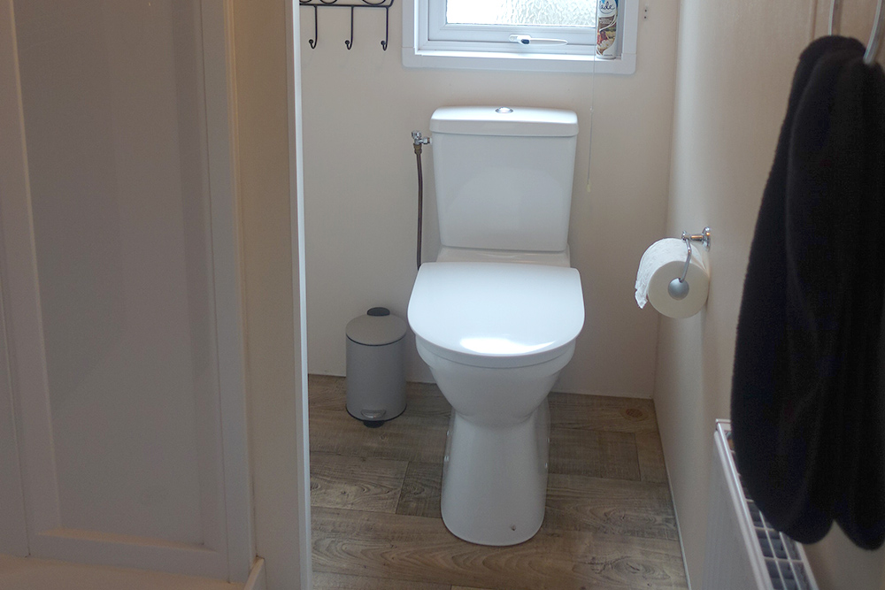 Vechtdalchalet Reggezicht douch en toilet