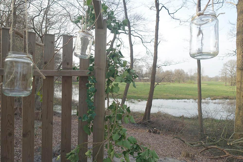 Vechtdalchalet Reggezicht zicht vanuit bosprieel