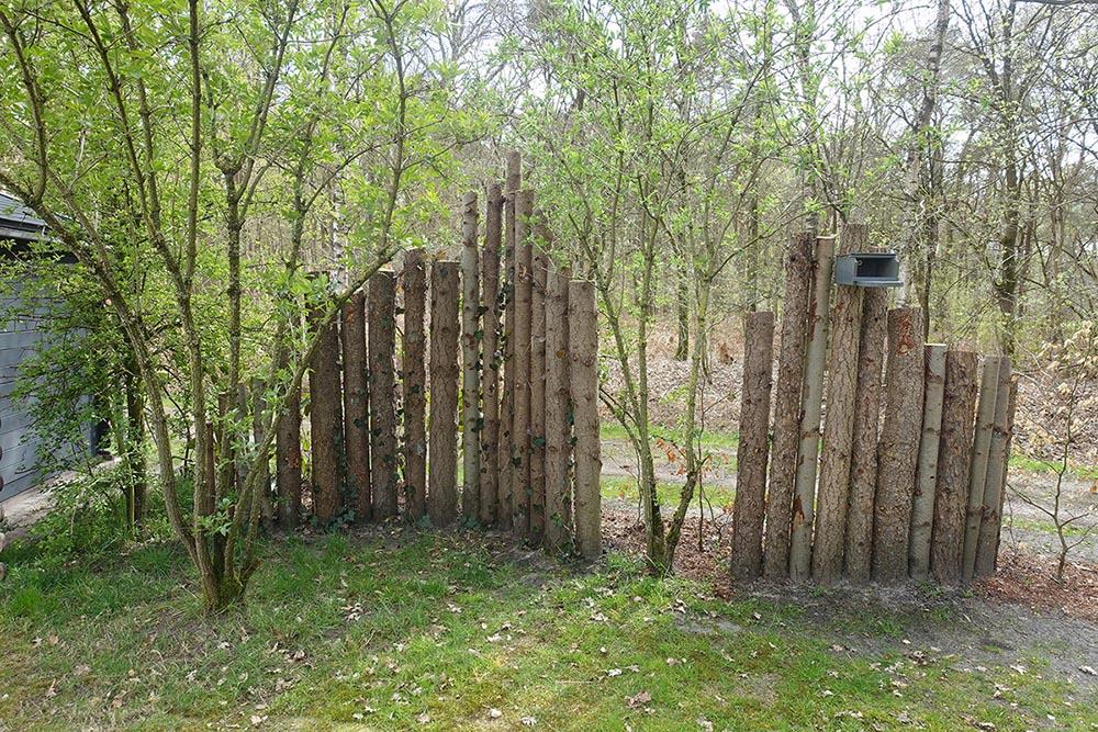 Vechtdalchalet Reggezicht idyllische plek in tuin