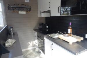 CR Vechtdalchalet Boszicht keuken